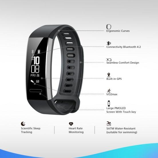 Huawei Band 2 Pro Smart Fitness Wristband