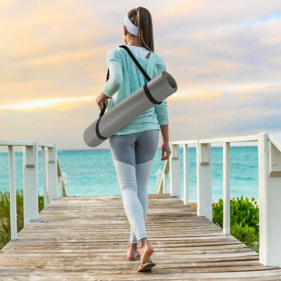 Sivan Health and Fitness Comfort Yoga Mat