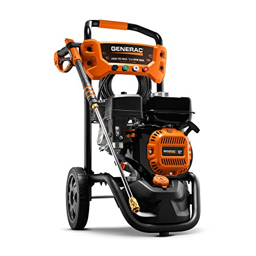 Generac 6923 3,100 PSI, 2.4 GPM, Gas Powered Pressure Washer