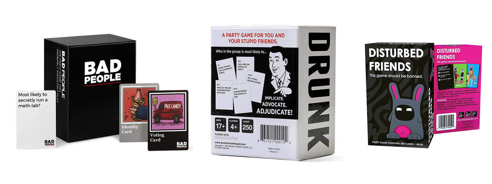 Party games that are offensive - and fun!