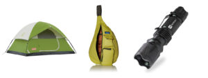 Camping and hiking outdoor equipment