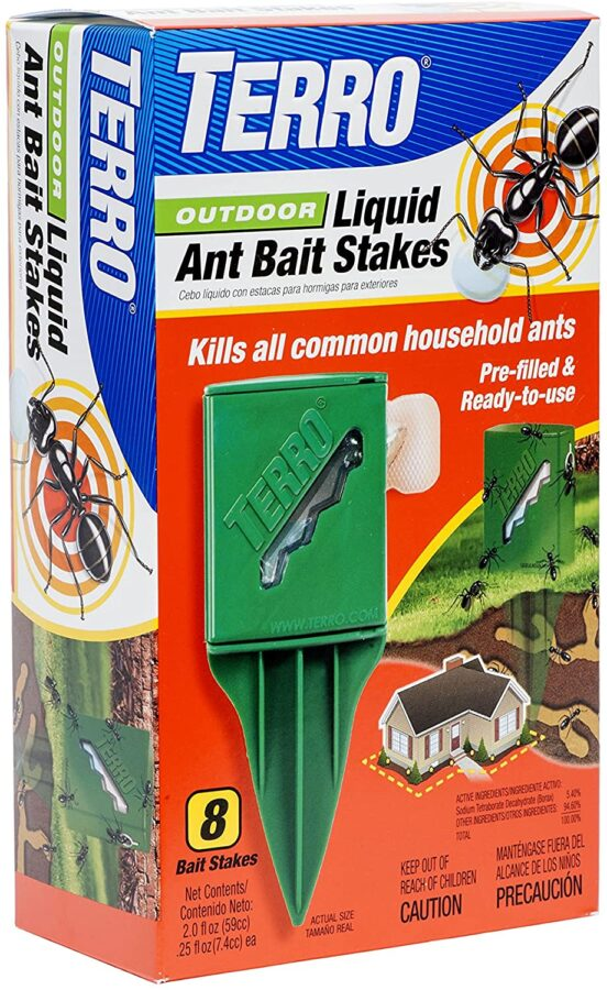TERRO Outdoor Liquid Ant Killer Bait Stakes