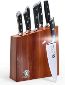 DALSTRONG Knife Set Block - Gladiator Series Knife Set - German HC Steel - Pakkawood Handles - 8 Pc