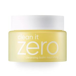 Clean It Zero Nourishing Cleansing Balm Makeup Remover & Face Cleanser