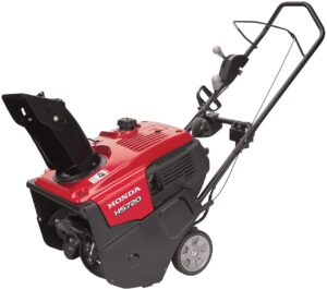 Honda 659760 20 in. 187cc Single-Stage Snow Blower with Dual Chute Control and Electric Starter