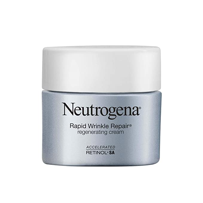 Neutrogena Rapid Wrinkle Repair Retinol Regenerating Anti-Aging Face Cream & Hyaluronic Acid