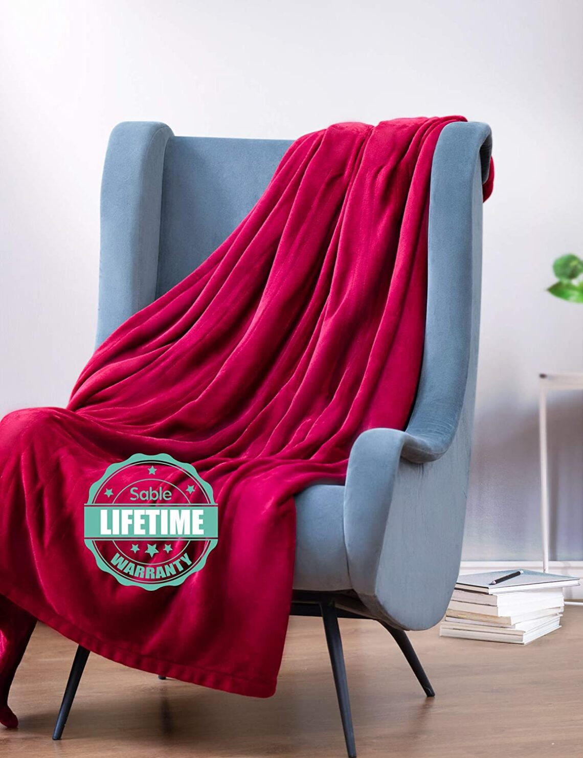 """Sable Electric Throw, 50"""" x 60"""" Full Body Warming Blanket Twin, Double-Layer Flanne Fast 10 Levels, Over-Heat Protect, Machine Washable, For Home..."""