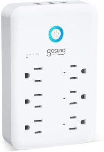 Smart Outlet, Gosund Wall Outlet Extender (15A/1800W)