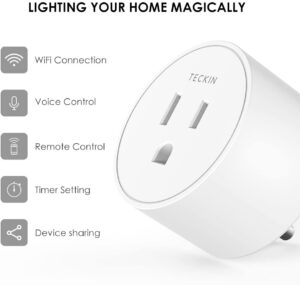 eckin Mini Smart Outlet Wifi Socket