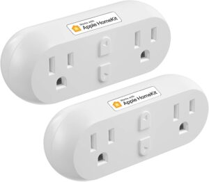 meross Smart Plug Dual WiFi Outlet
