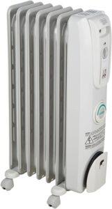 De'Longhi Oil-Filled Radiator Space Heater, Quiet 1500W, Adjustable Thermostat