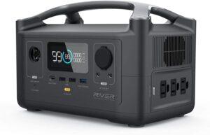 EF ECOFLOW Portable Power Station RIVER, 288Wh