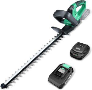 KIMO 20v Lightweight Cordless 20-inch Hedge Trimmer
