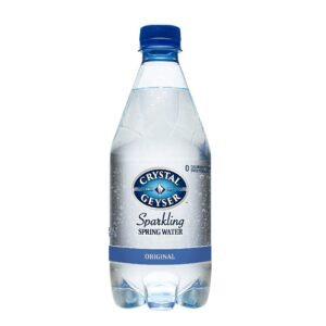 Crystal Geyser Unflavored Sparkling Spring Water