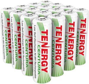 Tenergy AA Rechargeable NIMH Battery 2000mAh