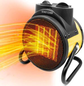 AgiiMan Patio Space Heater Portable - Electric Garage Personal Heaters